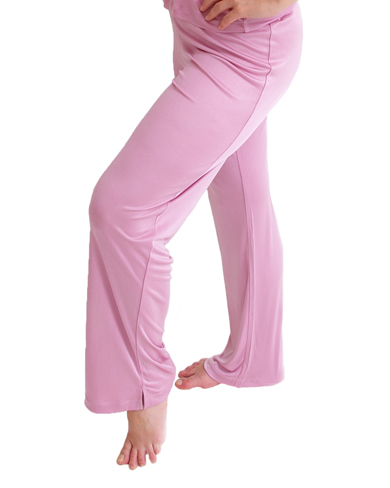 Knitted Silk Lounge Trousers