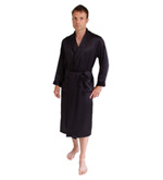 Long Silk Dressing Gown